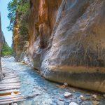 Hiking in Samaria-Gorge-Crete