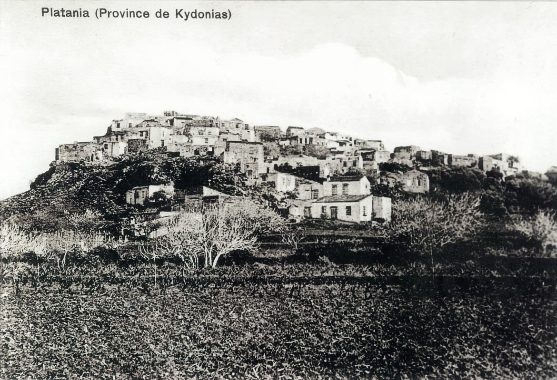 platanias crete history