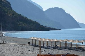 sougia beach south crete