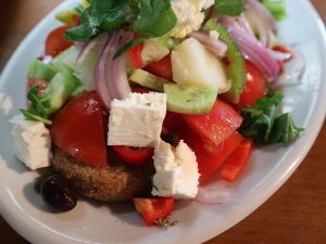 greek salad chania crete