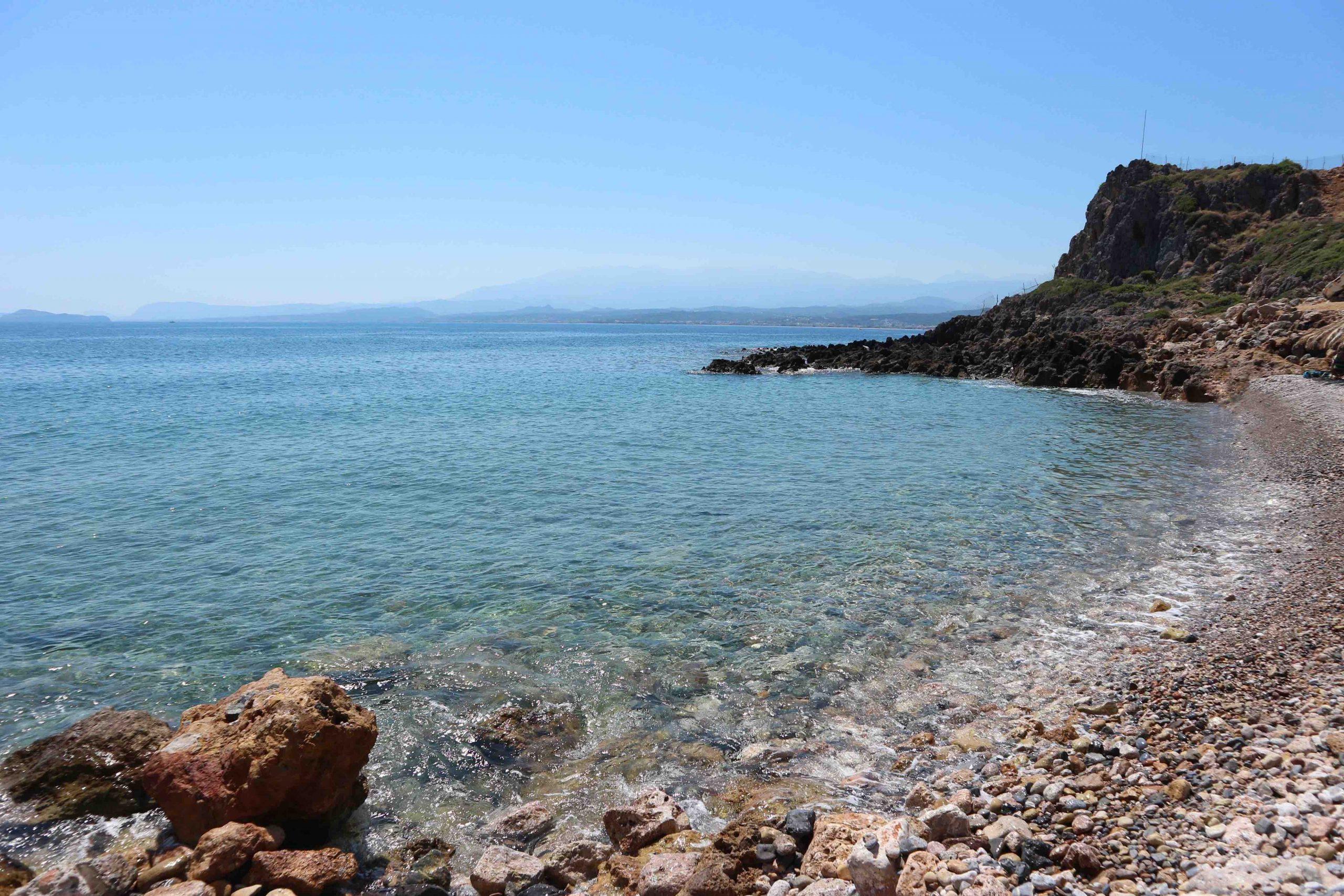 afrata beach chania crete