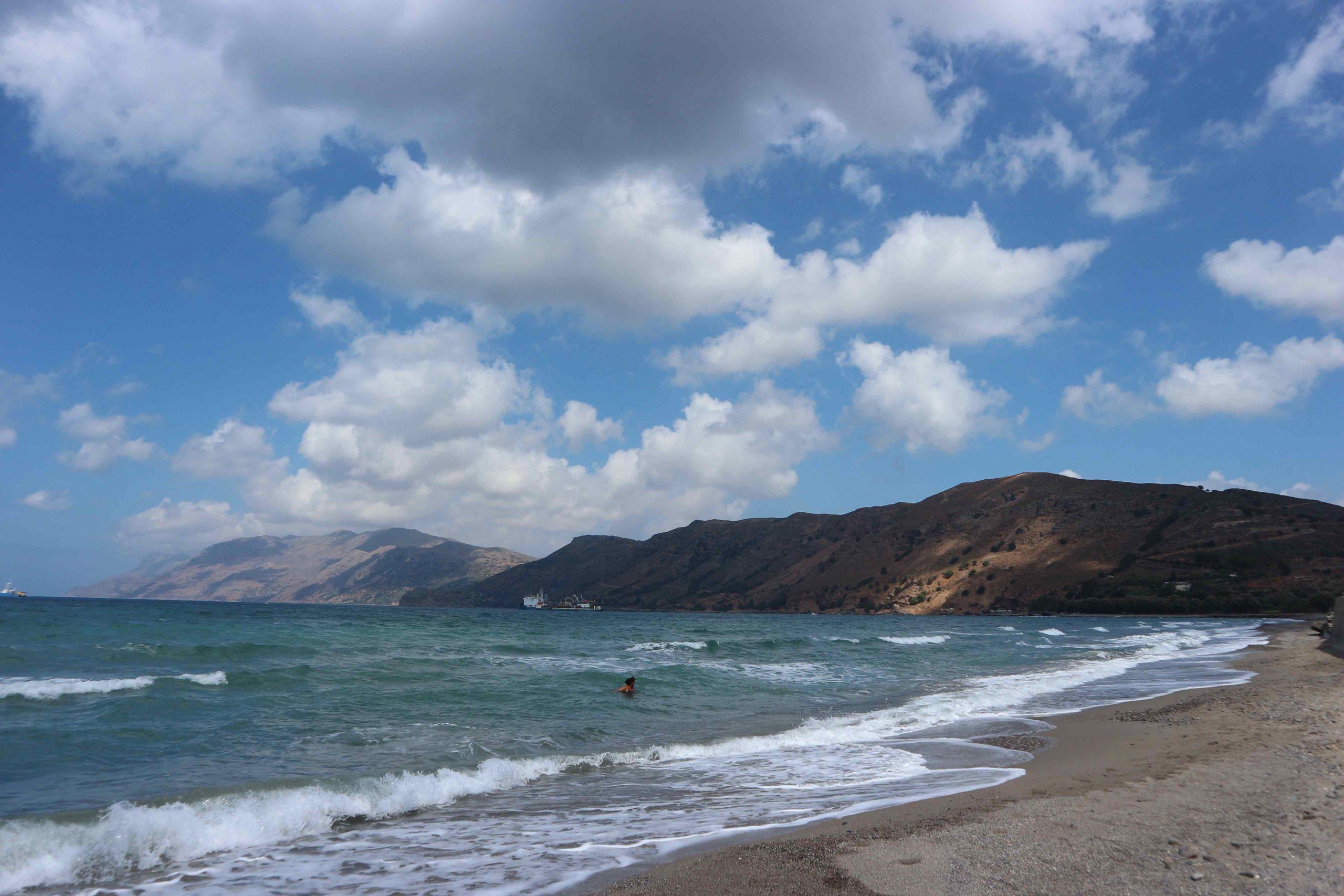 nopigia beach crete